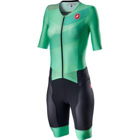 Castelli Free Sanremo 2 SS Suit Women multicolor jade green